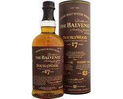balvenie 17 yo double wood 43%