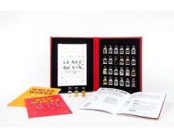 LE NEZ DU VIN(il naso del vno) - set completo 24 aromi in italiano(12 bianchi + 12 rossi)