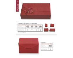 confezioni cartone bordeaux regal da 4  ( 164b )